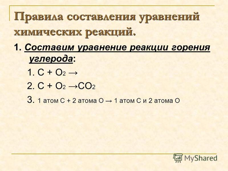 =PO2O2 +P2O5P2O5 10 :5=2 :2=5 5 2 4 4:4=14:1=4 4 Химические уравнения