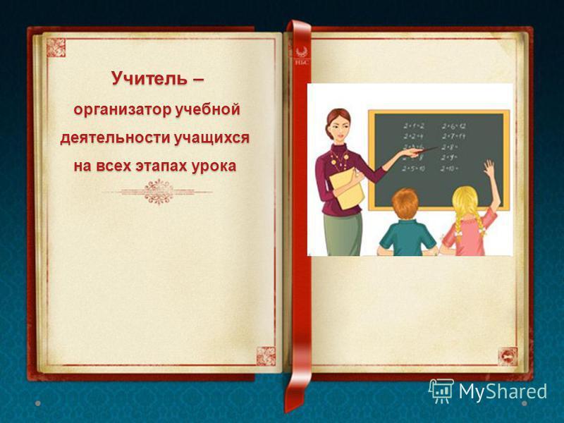 Учитель – организатор учебной деятельности учащихся на всех этапах урока Учитель – организатор учебной деятельности учащихся на всех этапах урока