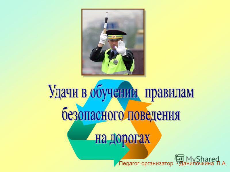 Педагог-организатор - Данилочкина Л.А.