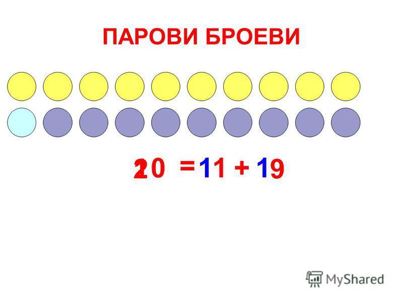 ПАРОВИ БРОЕВИ 10 = + 91 11 2