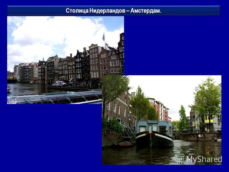 Столица Нидерландов – Амстердам.