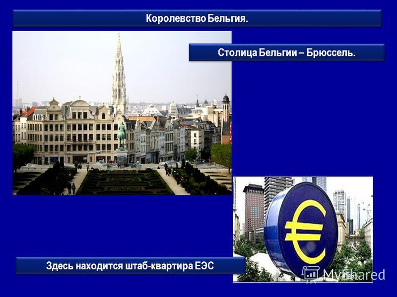 Королевство Бельгия. Здесь находится штаб-квартира ЕЭС Столица Бельгии – Брюссель.