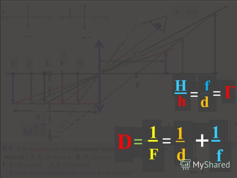 7. На рисунке 2 представлен ход лучей света через линзу, МN - главная оптическая ось линзы. Какая из точек, отмеченных на рисунке, является главным фокусом линзы?. 4- MN-главная оптическая ось Оптический центр линзы 1-Рассматриваемая точка 3- Изображ