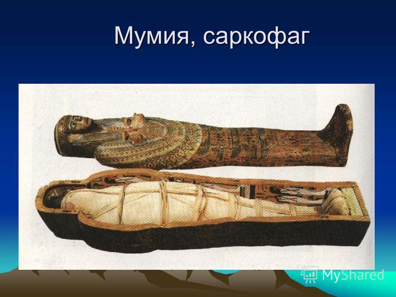 Мумия, саркофаг Мумия, саркофаг