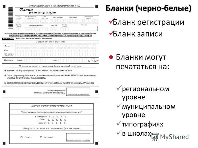 29 Бланки (черно-белые) Бланк регистрации Бланк записи Бланки могут печататься на: региональном уровне муниципальном уровне типографиях в школах