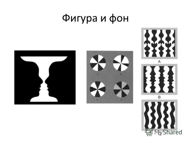 Фигура и фон
