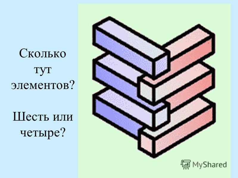 Сколько тут элементов? Шесть или четыре?