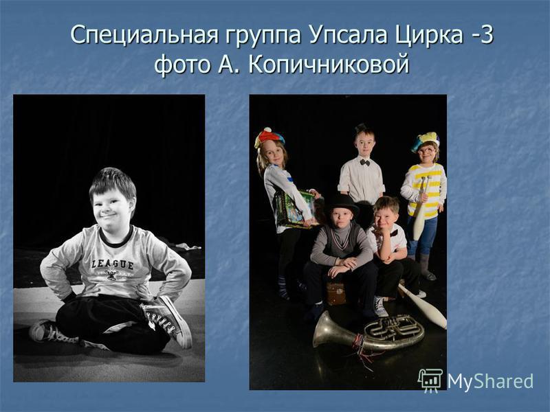 Специальная группа Упсала Цирка -3 фото А. Копичниковой