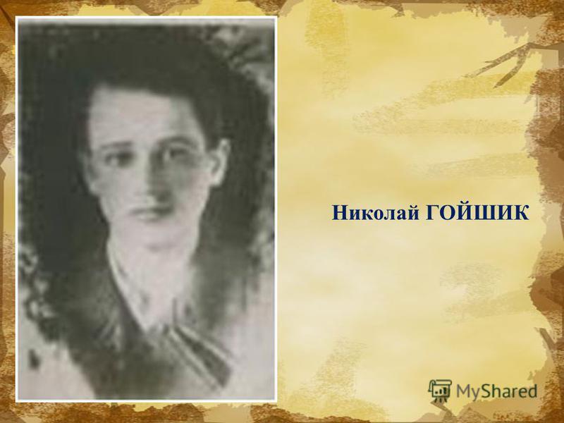 Николай ГОЙШИК