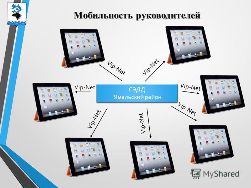 Мобильность руководителей СЭДД Ямальский район СЭДД Ямальский район Vip-Net
