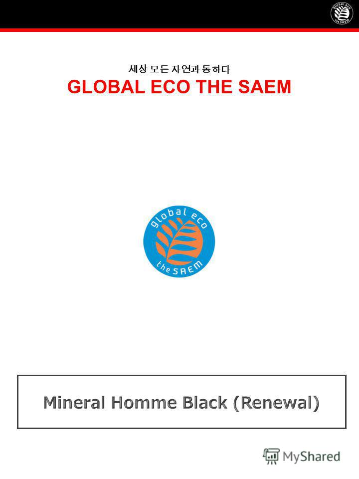 GLOBAL ECO THE SAEM