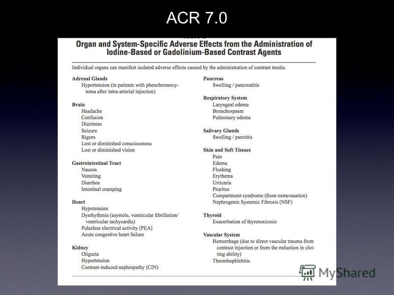 ACR 7.0