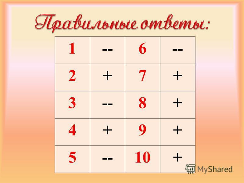 1--6 2+7+ 3 8+ 4+9+ 5 10+