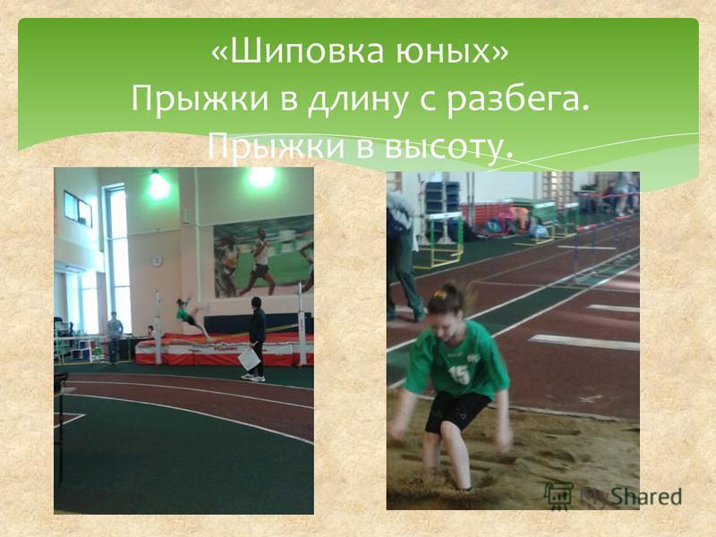 «Шиповка юных» Прыжки в длину с разбега. Прыжки в высоту.