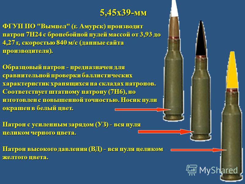 5,45 х 39-мм ФГУП ПО