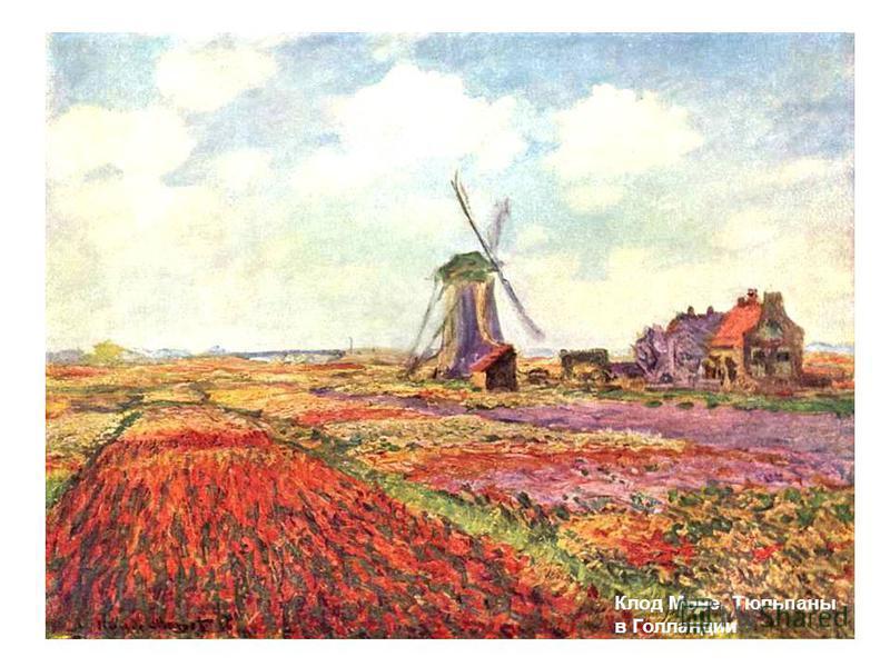 Клод Моне. Тюльпаны в Голландии