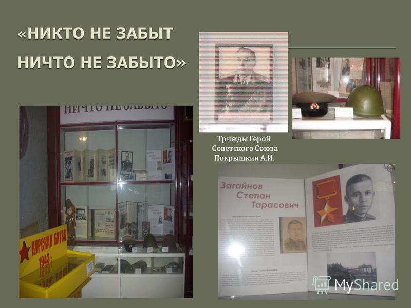 Трижды Герой Советского Союза Покрышкин А. И.