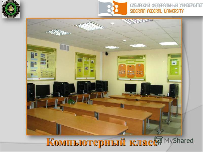 Сибирский федеральный университет Компьютерный класс
