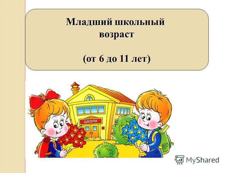 Младший школьный возраст (от 6 до 11 лет)