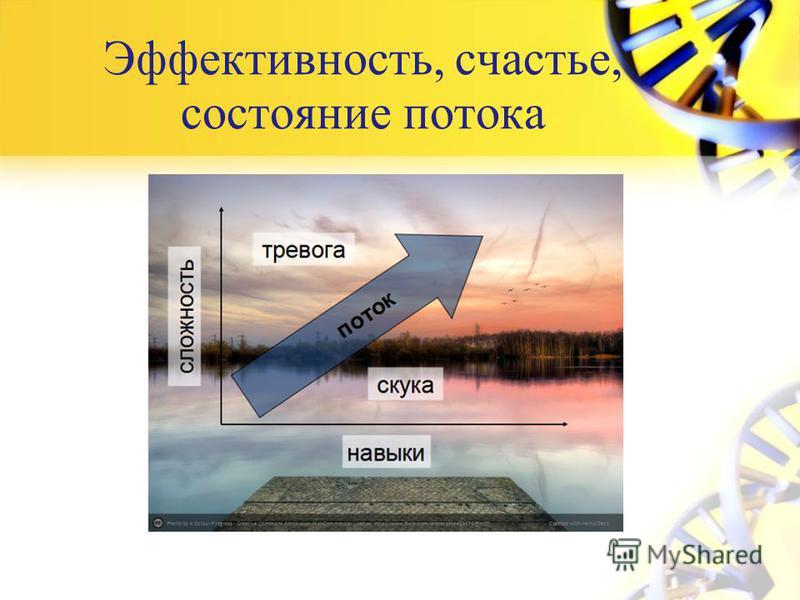 Эффективность, счастье, состояние потока