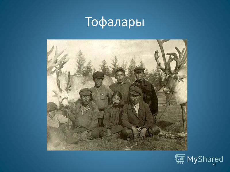 Тофалары 25