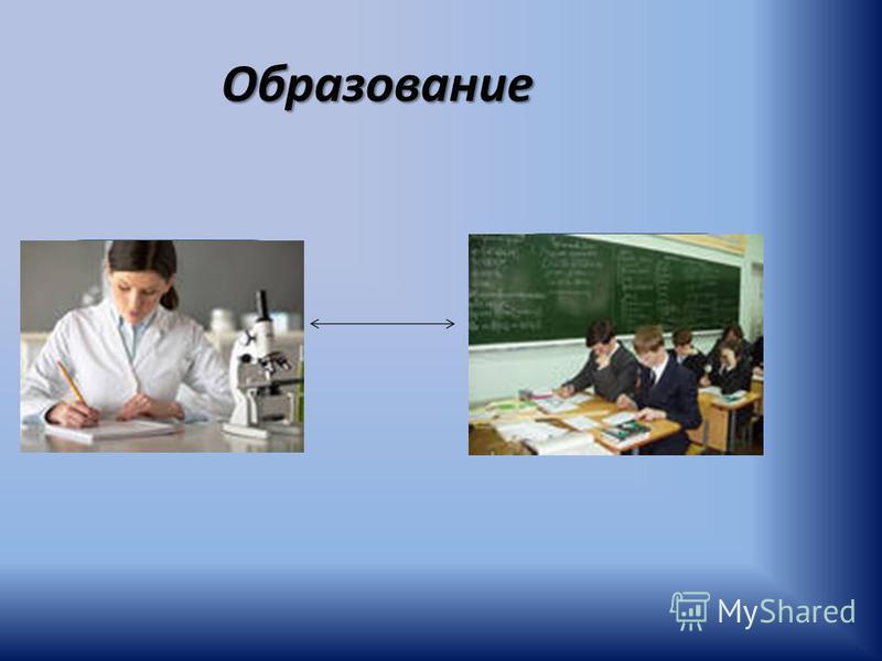 Образование Наука Образование