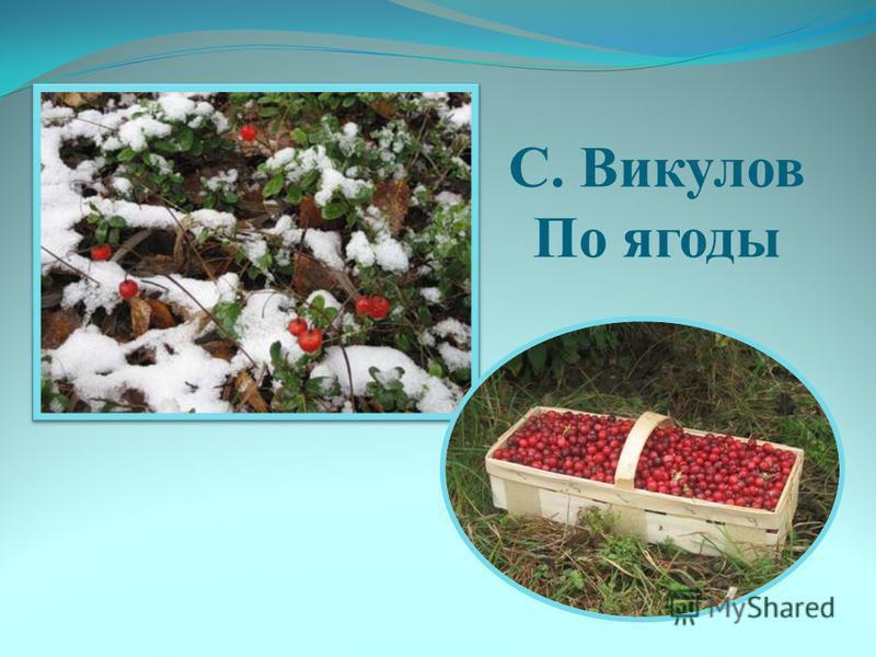 С. Викулов По ягоды