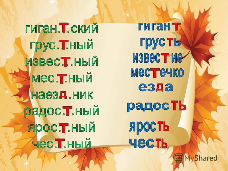 Чтобы знать, как написать, Надо слово изменять, И з а звуком непонятным Быстро гласную искать. Непроизносимые согласные в корне проверяй так: грустный – грусть звездный – звезда
