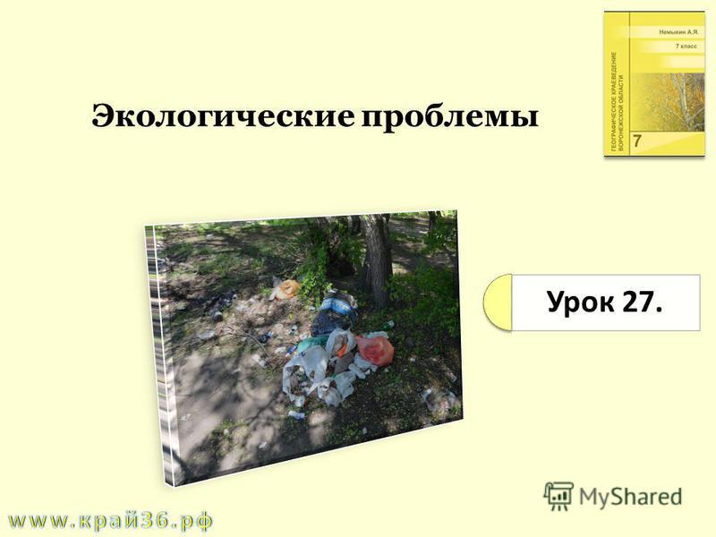 Урок 27. Экологические проблемы
