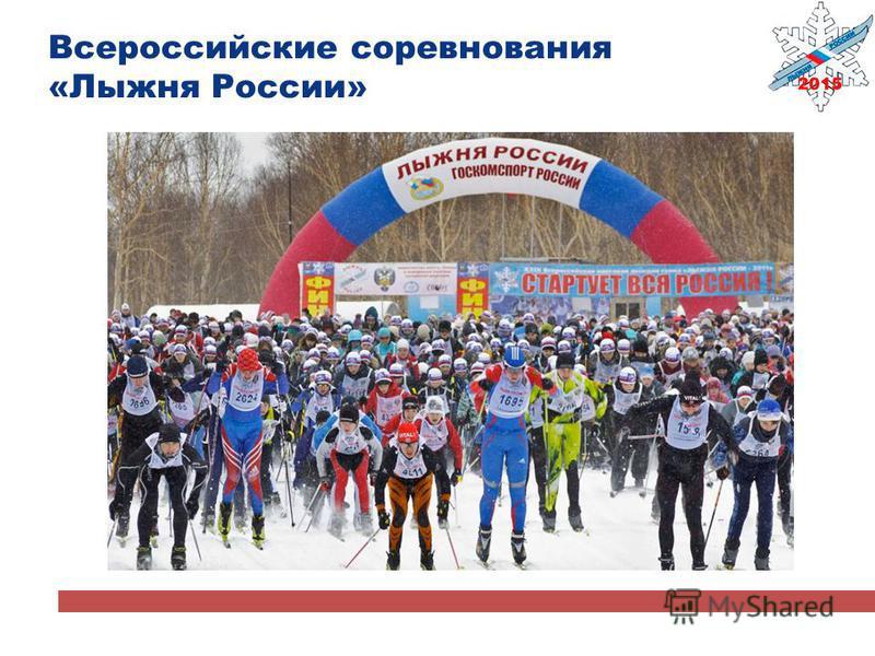 Всероссийские соревнования «Лыжня России»