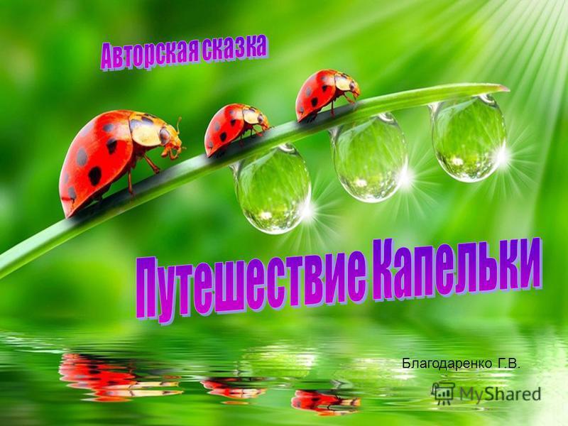 Благодаренко Г.В.