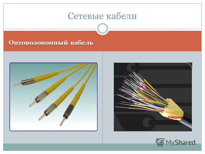 Оптоволоконный кабель Сетевые кабели