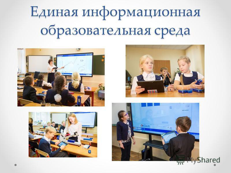 Единая информационная образовательная среда