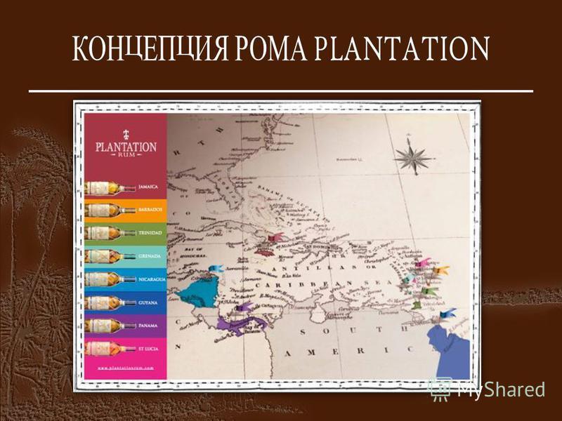 КОНЦЕПЦИЯ РОМА PLANTATION