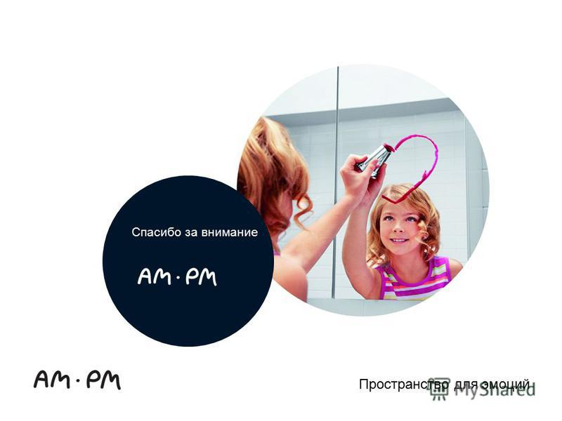 AM.PM Brand Guidelines: PowerPoint Пространство для эмоций Спасибо за внимание