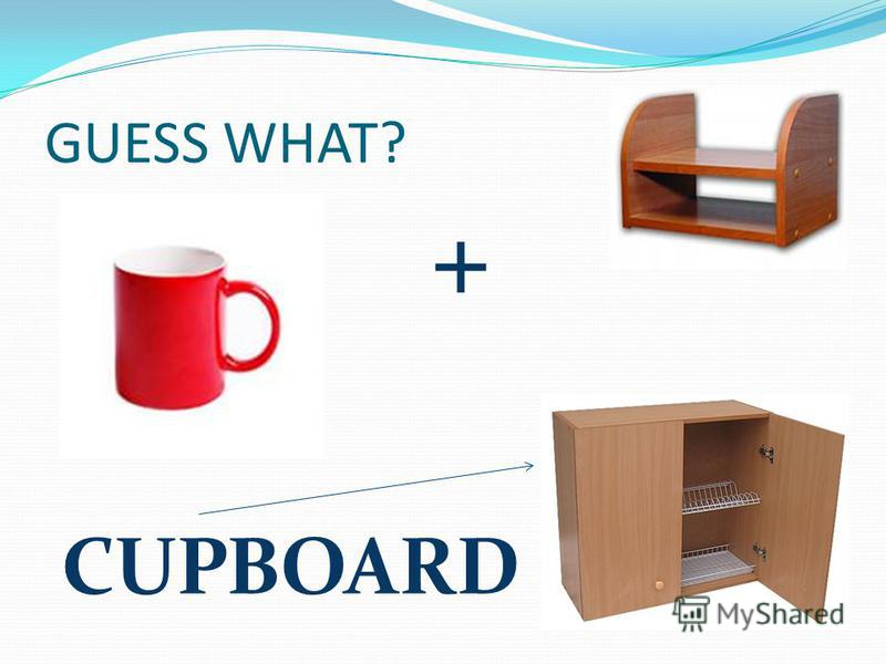 GUESS WHAT? CUPBOARD +