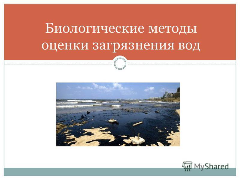 Биологические методы оценки загрязнения вод