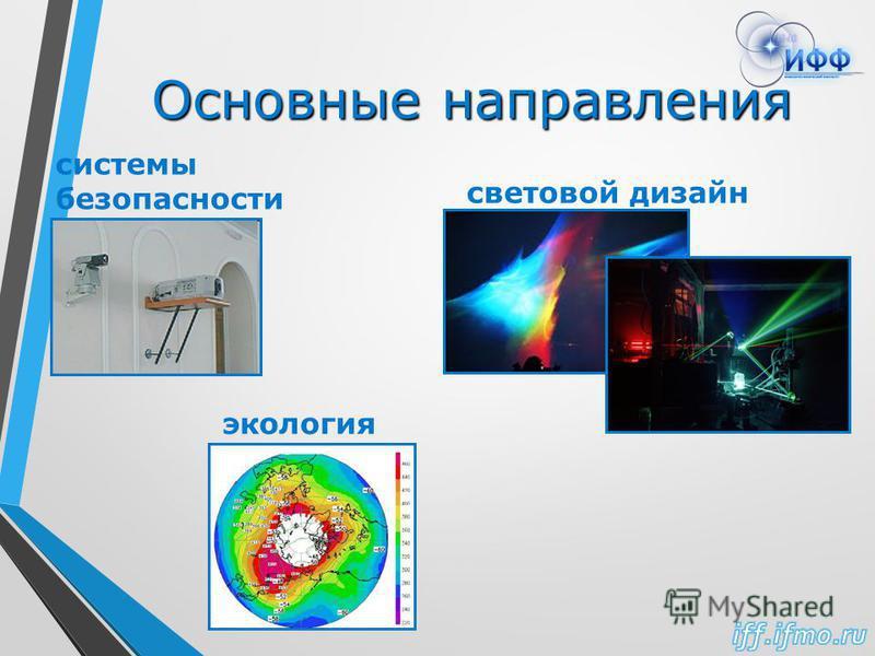 Основные направления световой дизайн системы безопасности экология