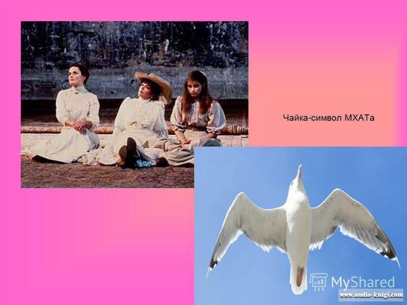 Чайка-символ МХАТа