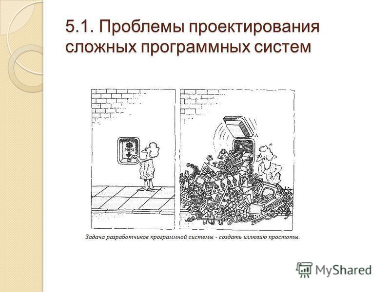 5.1. Проблемы проектирования сложных программных систем