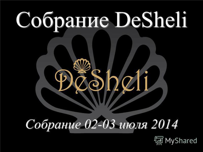 Собрание DeSheli Собрание 02-03 июля 2014