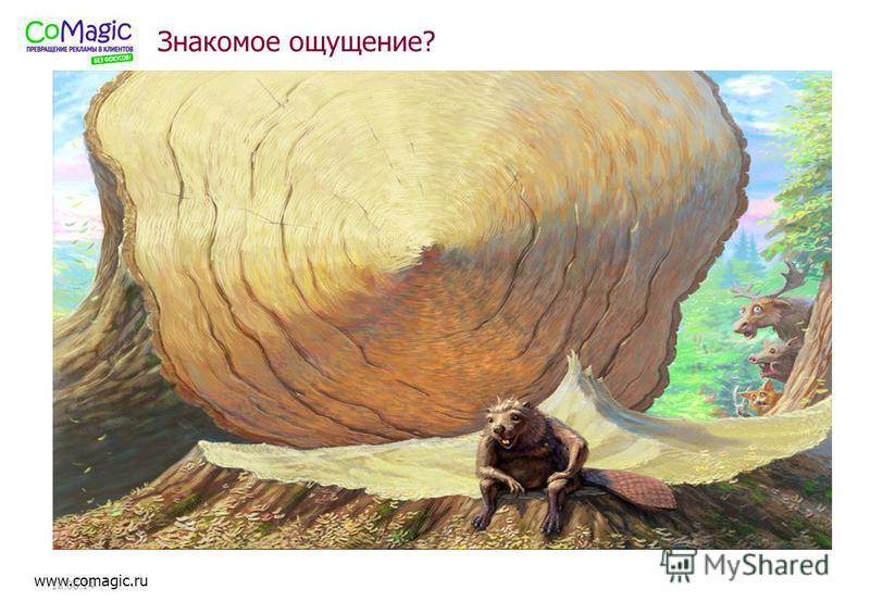 www.comagic.ru 18.06.14 Знакомое ощущение?
