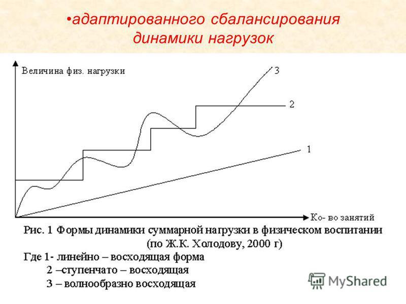 адаптированного сбалансирования динамики нагрузок