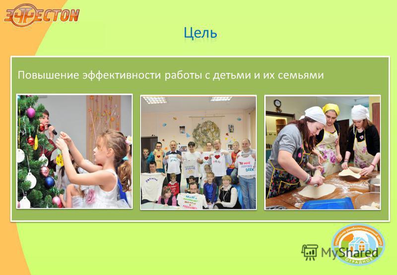 Повышение эффективности работы с детьми и их семьями