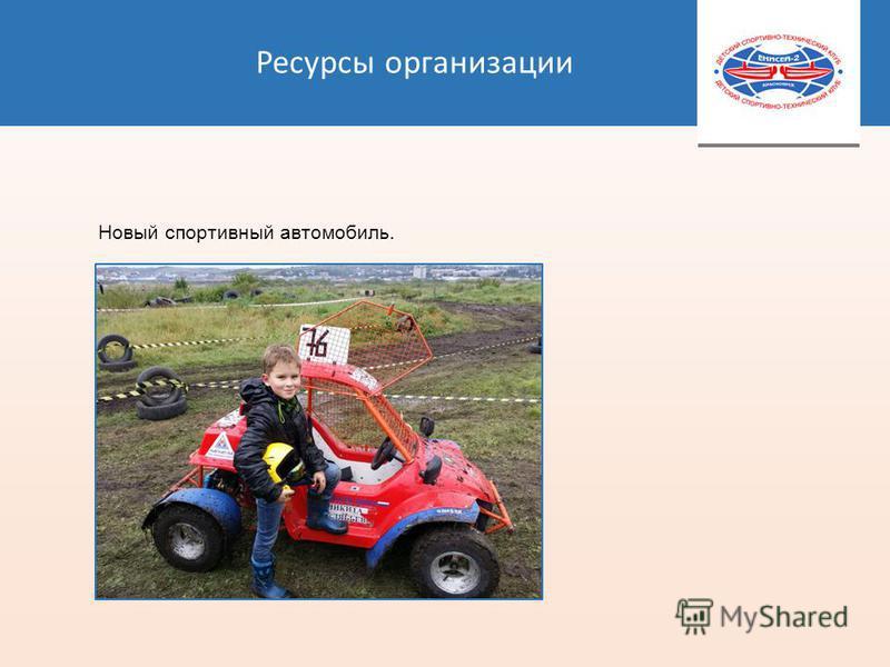 Ресурсы организации Новый спортивный автомобиль.