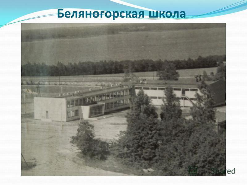 Беляногорская школа