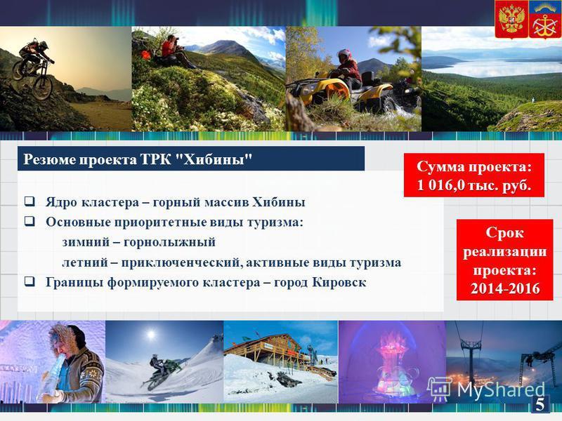 Резюме проекта ТРК