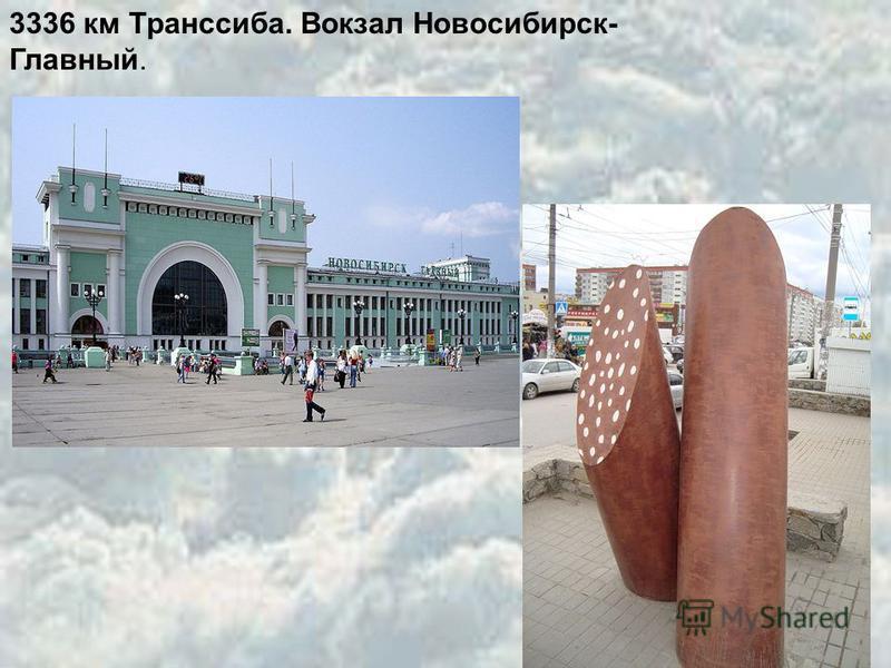 3336 км Транссиба. Вокзал Новосибирск- Главный.