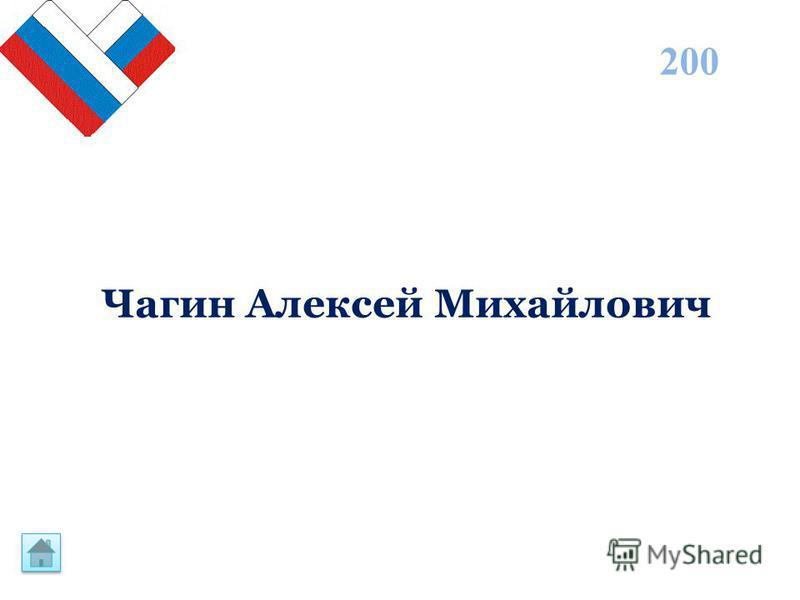 200 Чагин Алексей Михайлович