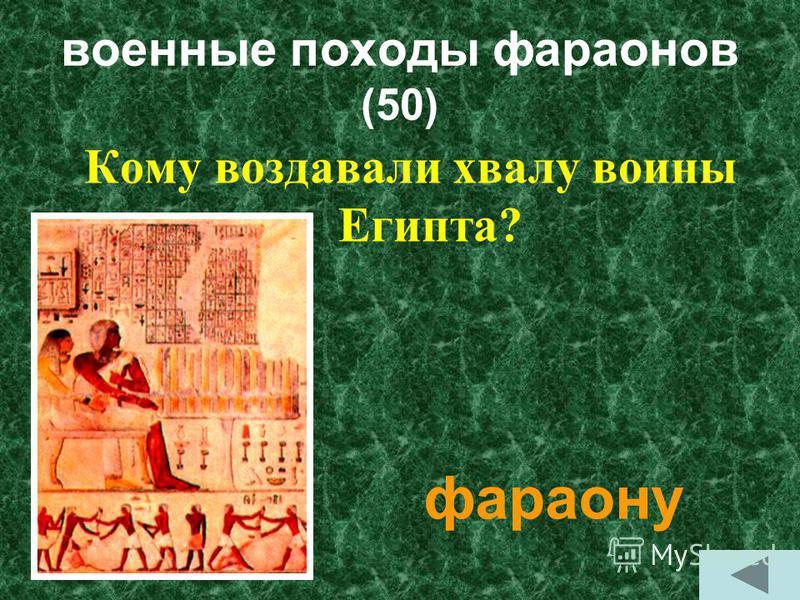 военные походы фараонов (60) На какие территории были совершены походы фараоны Египта? Нубия, Ливия, Синайский полуостров, Палестина, Сирия, Финикия.